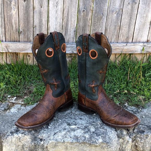 b14da4dff41 Ariat Ranchero Mens Square Toe Western Boot